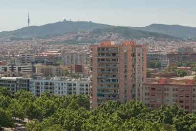 Apartments near the sea in Diagonal Mar district of Barcelona